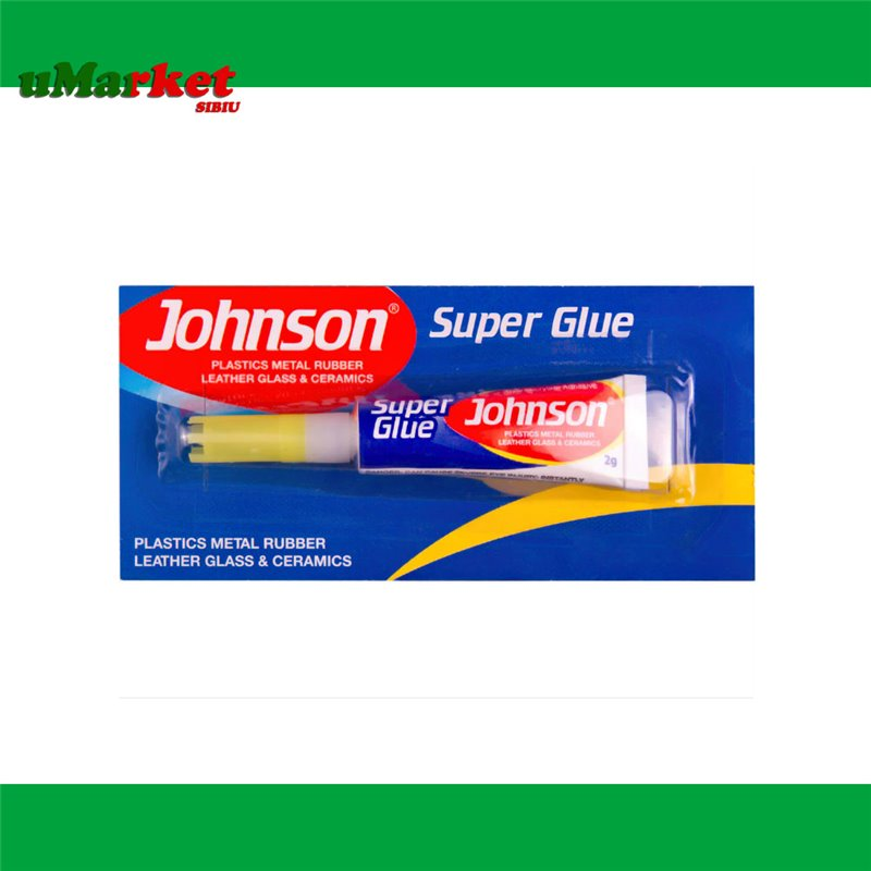 SUPER GLUE JOHNSON 2G