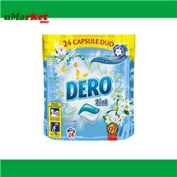 DERO 2IN1 CAPSULE 24BUC IRIS+MUSETEL