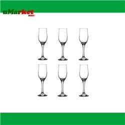 SET PAHARE SAMPANIE 200CC GLASS4YOU