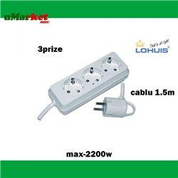 LOHUIS PRELUNGITOR 3P 1.5M 2200W