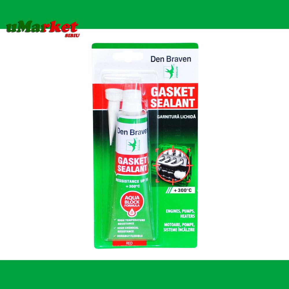 SILICON ROSU +300GR 80ML GASKET SEALAND DBR