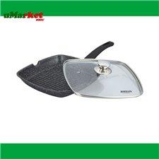 TIGAIE GRILL PATRATA CU CAPAC BH-71002-24MRB