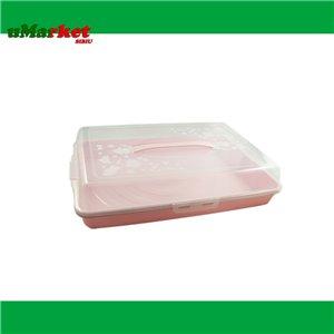 PLATOU TORT DREPTUNGHIULAR + CAPAC PLASTINA INP