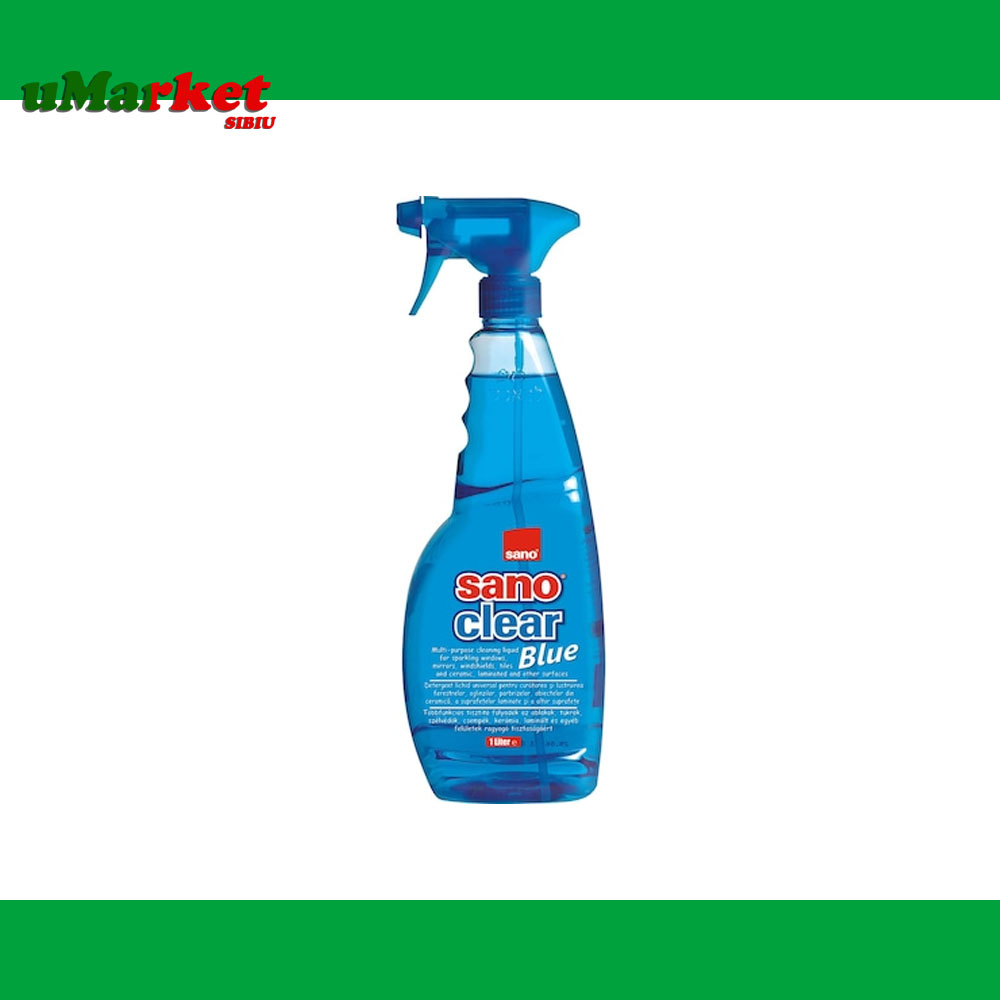 SANO CLEAR BLUE SOLUTIE GEAM 1000ML