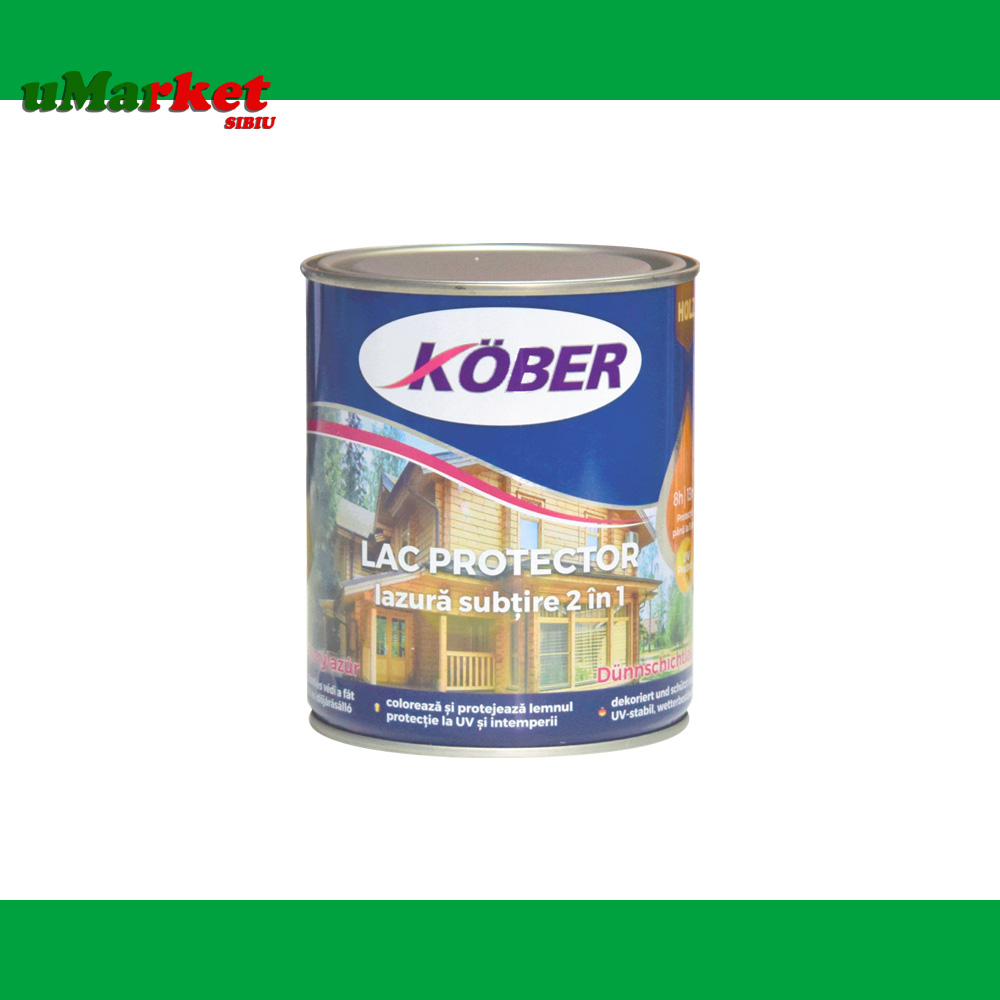 KOBER LAC PROTECTOR 2IN1 PALISANDRU 0.75L
