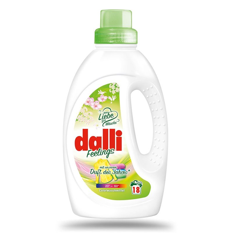DALLI DETERGENT RUFE LICHID INTENS 1.35L COLOR 18SP